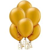 10吋乳膠氣球10入-璀璨金