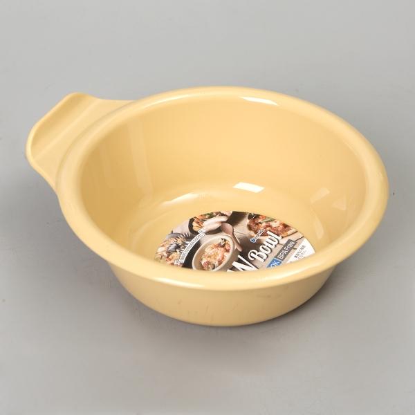 日本製【Inomata】LOW Bowl方便湯碗 W.芥末黃/ 1423