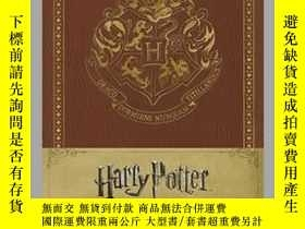 二手書博民逛書店Harry罕見Potter Hogwarts Hardcover Ruled JournalY410016 .