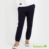 輕鬆束口褲02深藍色-bossini男裝