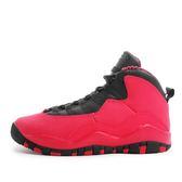 Nike Girls Air Jordan 10 Retro GS [487211-605] 大童鞋 喬丹 經典 紅 黑
