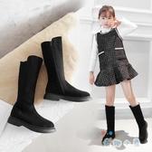 女童鞋秋冬馬丁靴加絨兒童長靴韓版公主高筒靴子【奇趣小屋】