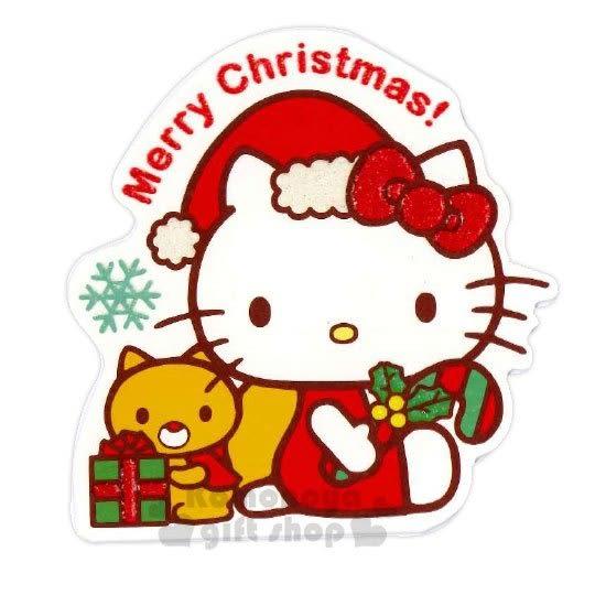 〔小禮堂〕Hello Kitty 造型耶誕卡片《紅粉.聖誕帽》賀卡.聖誕卡.聖誕送禮 4714581-10646