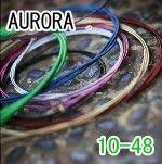 吉他弦 ► AURORA吉他弦 美國 綠色 民謠弦 木吉他弦 10-48