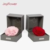 JoyFlower星座永生花禮盒玫瑰盒干花真花女友生日禮物擺件情人節 居享優品