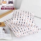 午安枕/靠背枕/抱枕 大方抱枕 50X50cm 凱堡&棉花糖柴米聯名【C01106】