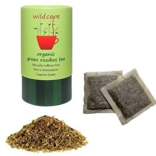 康馨-Wild Cape Green Rooibos野角有機南非博士綠茶(40茶包/罐)