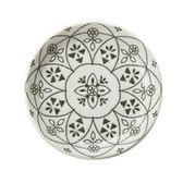 日本摩洛哥風盤14cm 白