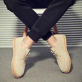 店長推薦馬丁鞋夏季復古沙漠真皮潮流低筒男士工裝鞋