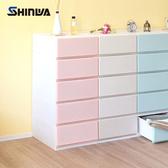 【nicegoods】日本製 Shinwa伸和 35面寬五層抽屜收納櫃-DIY