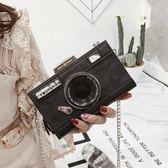 創意個性鍊條小方包照相機造型復古手機包新款chic斜跨單肩包 衣櫥の秘密