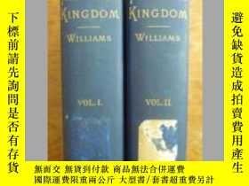 二手書博民逛書店【罕見】1895 年紐約出版精裝 S. Wells Willia
