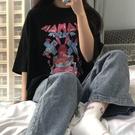 短袖T恤 2021春夏裝新款韓版ulzzang港風chic純棉短袖T恤女學生上衣ins潮 寶貝寶貝計畫 上新