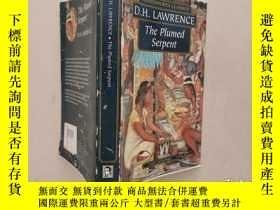 二手書博民逛書店D.H.LAWRENCE罕見The Plumed Serpent