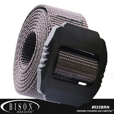 Bison JAG 戰術30mm 咖啡色腰帶 #523BRN  M~XL【AH24049】JC雜貨