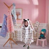 嬰幼兒浴巾 紗布卡通帶帽斗篷  寶寶浴袍睡衣 卡通 滿千89折限時兩天熱賣