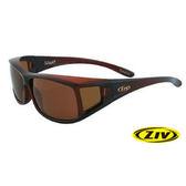 ZIV 優視 ELEGANT 太陽偏光眼鏡 S100013 茶框/茶片(24)近視專用