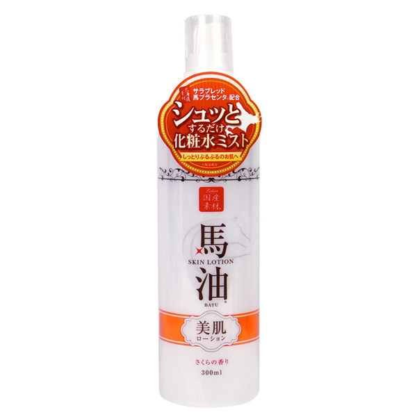 日本 Lishan 莉香 馬油化妝水(櫻花香味) 260mL ◆86小舖 ◆