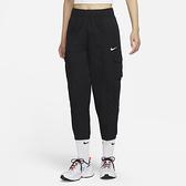 Nike SPORTSWEAR ESSENTIALS 女裝 長褲 休閒 工裝 高腰 錐形 黑【運動世界】DD5984-010