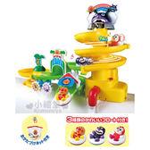 〔小禮堂嬰幼館〕麵包超人 滑水道洗澡玩具組《橘盒裝.椰子樹.細菌人》添增樂趣  4971404-30853