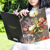 古典畫師速寫本8K 創意復古硬皮素描本 復古印象派空白塗鴉手繪本 小確幸生活館