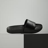 New Balance 黑 LOGO 防潑水 韓國 休閒 涼拖鞋 SD1101IBB