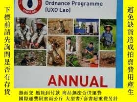 二手書博民逛書店UXO罕見Lao ANNUAL REPORT 2016Y1234