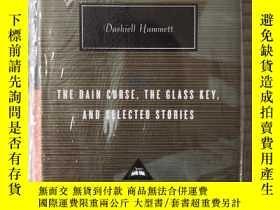 二手書博民逛書店The罕見Dain Curse, The Glass Key, and Selected Stories 戴恩家的
