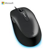 Microsoft 微軟 4500 銀黑色 藍光舒適滑鼠 藍光舒適滑鯊 USB 滑鼠 4FD-00027