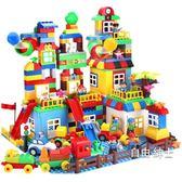 積木積木拼裝大顆粒1-2-4女孩城市3-6周歲男孩子兒童益智玩具中秋烤肉鉅惠
