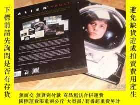 二手書博民逛書店異形幕後罕見Alien Vault The Definitive
