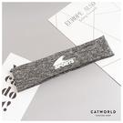 Catworld 歐美風寬邊英文字運動髮帶【18003531】‧F