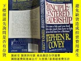 二手書博民逛書店PRINCIPLIECENTEREDLEADERSHIP罕見STEPHENR COVEY 看圖下單Y25012