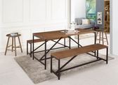 【新北大】✪ B467-1 巴羅5.3尺休閒桌(不含餐椅)-18購