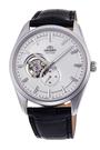 [Y21潮流精品] 新款!ORIENT 東方錶 SEMI-SKELETON系列 機械錶 皮帶款 白色-40.8mm RA-AR0004S