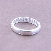 心經戒指雙面雕刻999純銀戒指 高純度足銀六字真言戒指男女款心經開口 玩趣3C