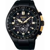 【台南 時代鐘錶 SEIKO】精工 ASTRON 太陽能GPS鈦金屬腕錶 SSE174J1@8X53-0BD0SD 矽膠帶 47mm