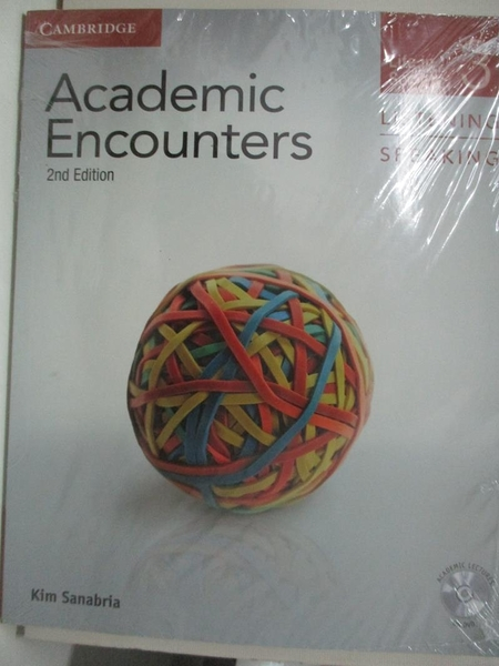 【書寶二手書T1/語言學習_EHR】Academic Encounters Level 3 Student's Book, Listening…