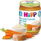 Hipp喜寶天然蔬菜小牛肉全餐 125g x6罐 450元