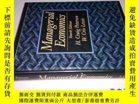 二手書博民逛書店Managerial罕見Economics Fourth Edi