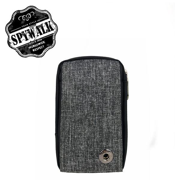 腰掛包 SPYWALK多插袋尼龍兩用側掛包腰包 NO:2467