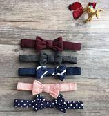 兒童男童紳士帥氣英倫風純棉領帶領結