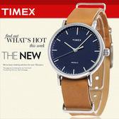 TIMEX 美國第一品牌 Waterbury INDIGLO 夜光指針錶 天美時 學院風 文青 TW2P98300