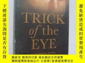 二手書博民逛書店Trick罕見of the Eye 【眼睛的詭計,簡·斯坦頓,英