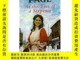 二手書博民逛書店At罕見the Toss of a Sixpence: A heart-warming...-在擲六便士的時候:一