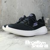 Skechers Air-Cooled 白黑紫 網布 慢跑鞋 女 (布魯克林) 2018/8月 15102BKLV
