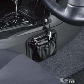 汽車用皮革儲物盒座椅手機袋收納盒多功能車載雜物置物袋掛袋架內 道禾生活館