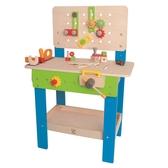【免運費】《德國HAPE愛傑卡》大型工作台(藍) ╭★ JOYBUS玩具百貨