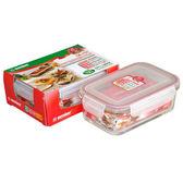 ★買一送一★KEYWAY台製耐熱玻璃保鮮盒(1.1L)【愛買】