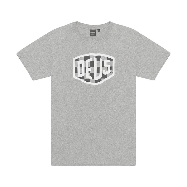 Deus Ex Machina  Moto Shield Tee  T恤-灰(男/女)